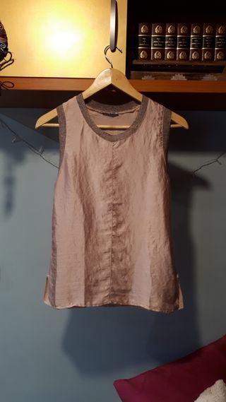 Camiseta tirantes zara