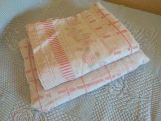 sabanas de 1 pieza bajera y encimera sin almohada