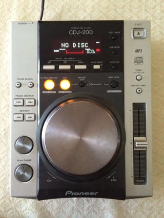 Reproductor CD-MP3 DEEJAY nuevo