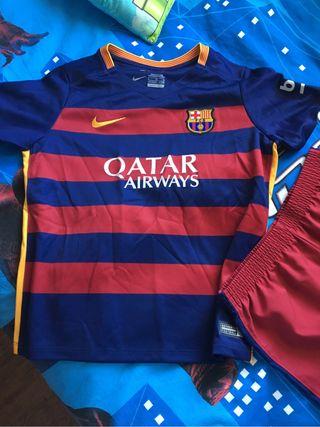 Equipacion niño Barça