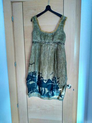 vestido de fiesta Adolfo Domínguez 30€
