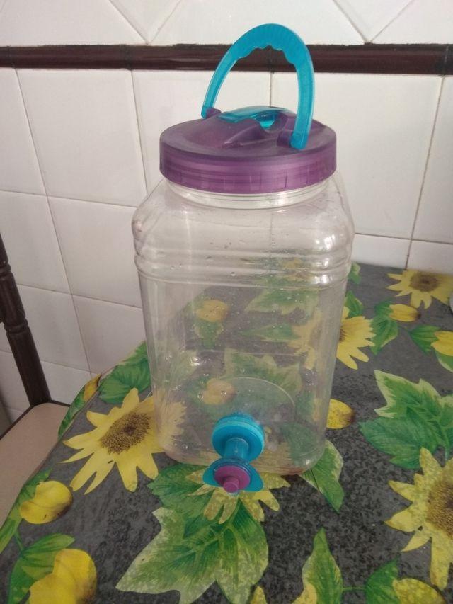 bombona para echar agua