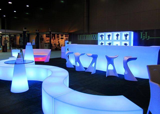 Barra bar con led
