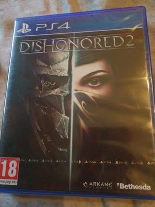 Dishonored 2 Play station 4