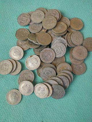 Lote de Monedas de 10 cts de Franco 1959
