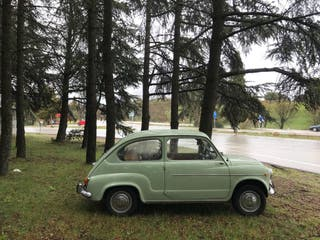 SEAT 600 D año 69 100€ tres horas !! alquiler