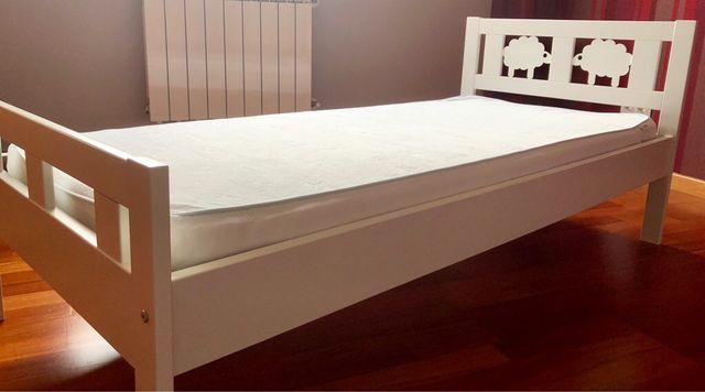 Cama infantil ikea kritter para ni a o ni o de segunda mano por 90 en paracuellos de jarama en - Ikea cama infantil ...