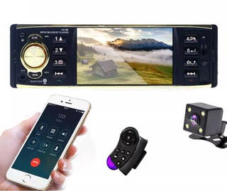 Radio ,bluetooth, pantallas ,cámara aparcamiento