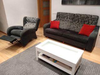 Sofa de 3 Plazas + Sillon Relax como nuevo