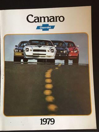 Catalogo Chevrolet Camaro 1979