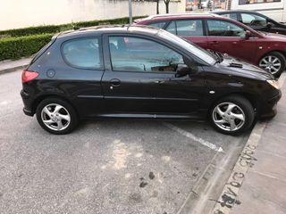 Peugeot 206 xs 1.4 90cv km 91671 gasolina