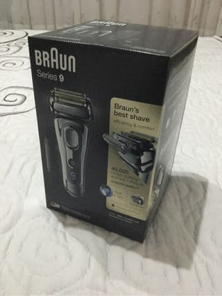 Braun series 9 con estacion de