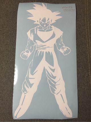 Vinilo pegatina Goku 51x23