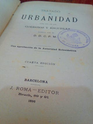antiguo libro siglo XIX