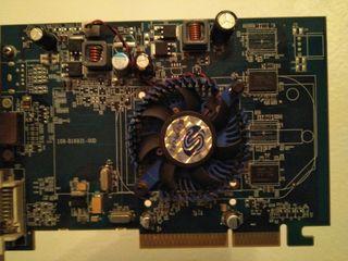 Tarjeta gráfica AGP 512MB