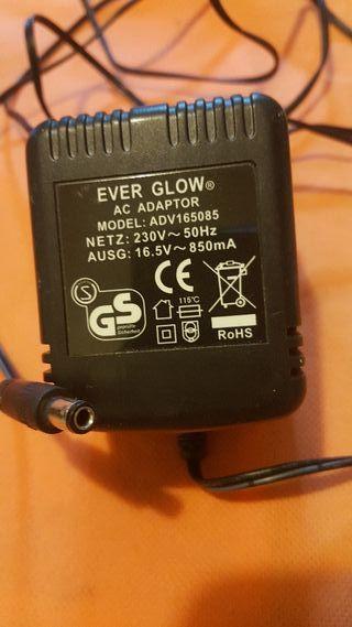 Transformador cargador 16.5v 850MA AC