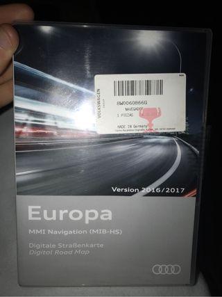 Gps MMI navegation EUROPA