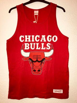 Original de Adidas talla s-m. Camiseta Chicago Bulls NUEVA c99fb3f6f32