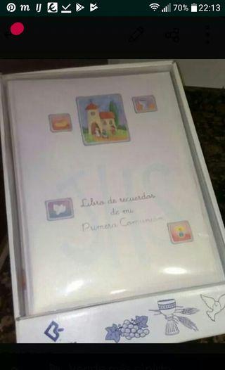 libro de recuerdos de comunion