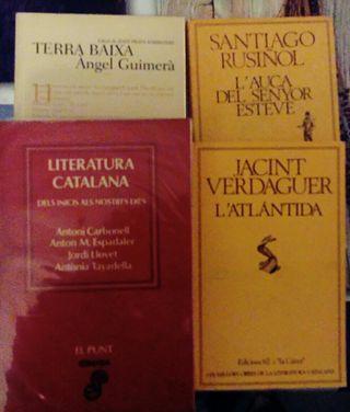 Clásicos literatura Catalana