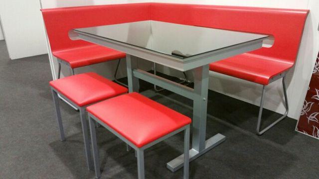 Banco rinconero mesa de cocina y taburetes de segunda - Banco rinconero para cocina ...