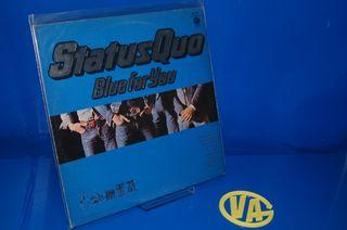 Vinilo disco LP - Status Quo Blue For You-1976