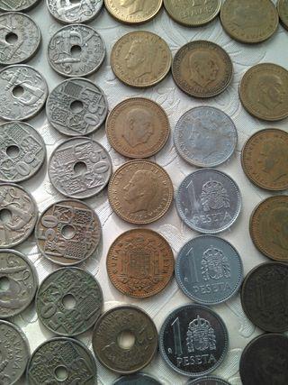 monedas antiguas y billetes