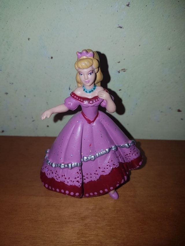 figura pvc goma maciza princesa Disney