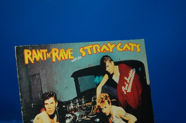 Vinilo LP - Rant N' Rave With The Stray Cats-1983