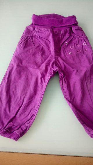 Pantalones de niña de 12 a 18 meses