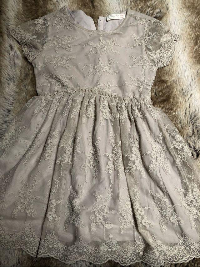 estilo actualizado hacer un pedido llegando Vestido fiesta Zara niña 9-10 años. de segunda mano por 20 ...