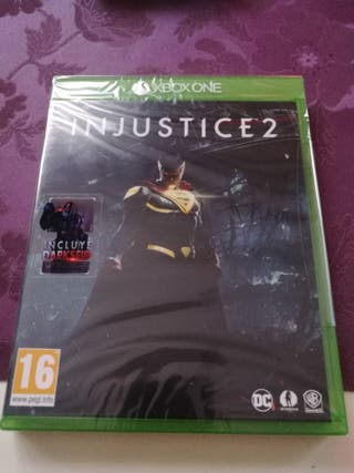 INJUSTICE 2 PRECINTADO XBOX ONE