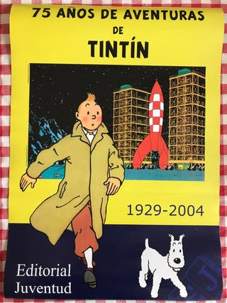 Poster Tintin original