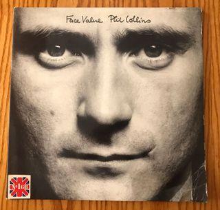 Disco de vinilo face value de phil collins LP