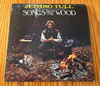 disco Vinilo Jethro Tull Songs From The Wood LP