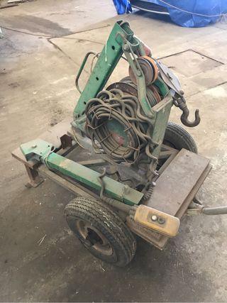 Elevador UMACON 160 maquinillo