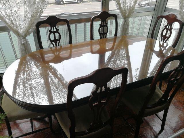 Mesa salón-comedor de segunda mano por 150 € en Burgos en WALLAPOP