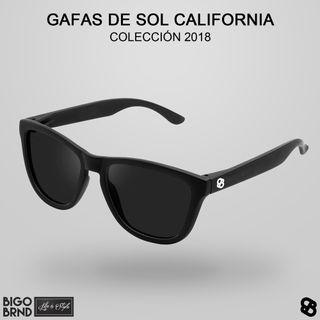 Gafas de sol California negras BIGO BRND