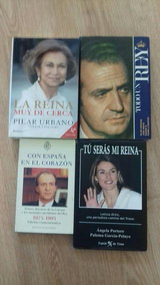 Lote de libros de Reyes de España