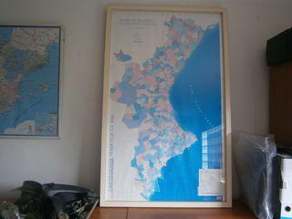 Cuadro Mapa Comunidad Valenciana
