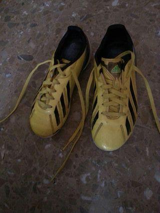 botas futbol para tierra y cesped, n34