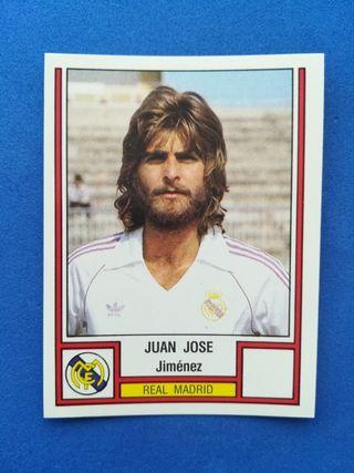 Cromo Real Madrid 186 Juan José Fútbol 83 Panini