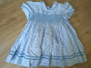 vestido talla 2 neck and neck azul