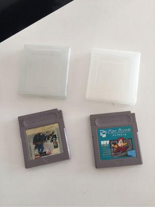 2 juegos de game boy