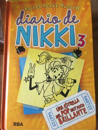 Libro diario de nikki 3