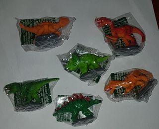 figuras pvc goma dinosaurios premium natillas