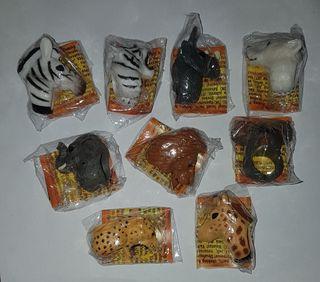 figuras pvc goma animales selva premium natillas