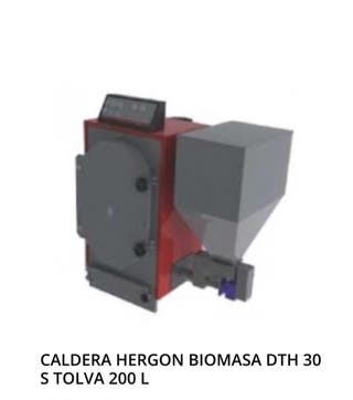 Caldera hergon biomasa