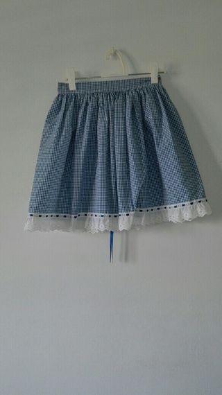 falda cuadros vichy