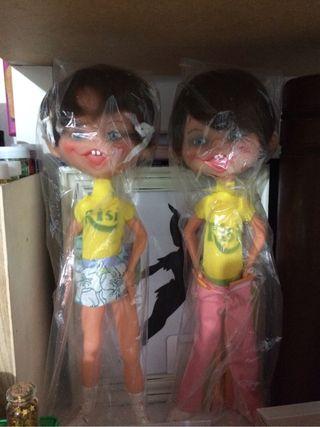 Pareja de Muñecos Risi
